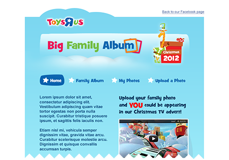 Toys R Us : Big Family Album